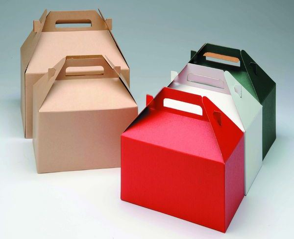 Solid colors gable boxes for Box gable roof