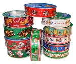 $2 Christmas Cartoon Character Printed Ribbon