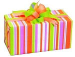 Stripe Pattern Gift Wrap