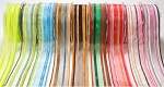 Stripe Sheer Ribbon