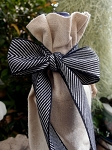 Chevron Herringbone Cotton Ribbon