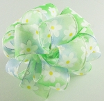 Spring Flower Printed Ribbon