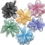 Gingham Pull Ribbon