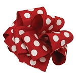 Polka Dots Ribbon with Wire