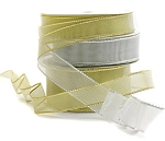 Metallic Ribbons with Wire