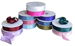 Wired Double Face Satin Ribbon