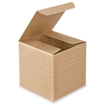 Natural Kraft Gift Box 3  x 3  x 3  (Candle)  sc 1 st  Wrapped All Up & Kraft Gift Box 3