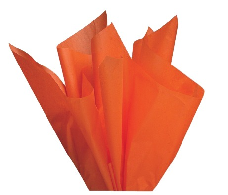 orange tissue paper Use white or kraft tissue paper for a clean and classic look, keeping jewelry and  silverware from tarnishing while it's  orange tissue paper sheets, 20 x 30.