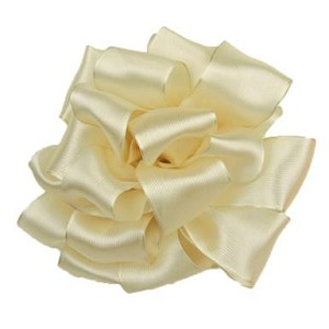 Ivory Prelude Wired Edge Ribbon, 2.5 inch x 10 yards