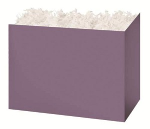 "Dusty Lilac Gift Basket Boxes (Small, 7"" x 4"" x 5"")"