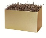 Gold Gift Basket Boxes (Large, 10.25