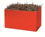 Red Gift Basket Boxes (Large, 10.25