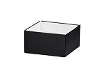 Black Deluxe Gift Box, Shallow Small (4