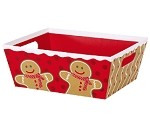 Gingerbread Man Market Tray, Large (12