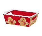 Gingerbread Man Market Tray, Small (9
