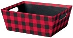 Buffalo Plaid Market Tray, Small (9