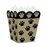 Puppy Paws Sweet Treat Containers, 4