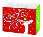 Dashing Reindeer Basket Boxes (Large, 10.25