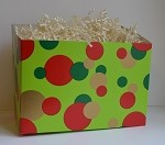 Christmas Dots Basket Boxes (Large, 9