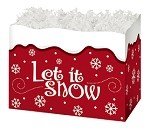 Let it Snow Basket Boxes (Small, 7
