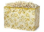 White Roses Basket Boxes (Small, 7