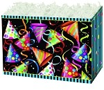 Party Hats Basket Boxes (Large, 10.25