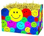 Smiley Boxes (Colorful Happy Faces) (Small, 7