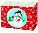 Snow Globe Basket Boxes (Large, 10.25