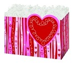 Swirly Hearts Basket Boxes (Small, 7