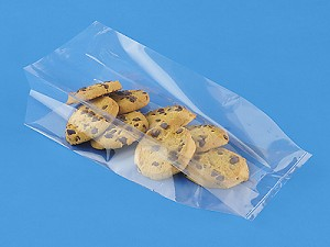 "Clear Cellophane Bags  (4"" x 2.5"" x 9.5""), 100 pack"
