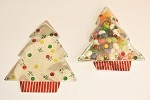 Tree Glitzy Shape Bags