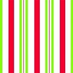 Sweet Stripes - Red & Green Cellophane Printed Bags, 100 bags