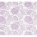 Elegant Lace Lavender Printed Cellophane Roll, 30