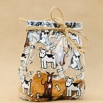 Puppy Pals Cellophane Printed Bags, 100 bags