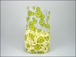 Smiley Faces Cellophane Printed Bags, 100 bags