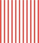 Stripes-Red Printed Cellophane Roll, 100' L