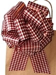 Red Gingham Pull Bows, 8