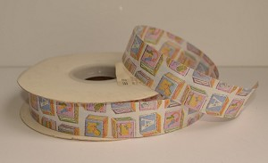 "Baby Blocks Pink-Blue Closeout Ribbon, 7/8"" x 50 yards"