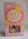 It's A Girl Window Treat Box (6