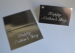 Happy Mother's Day (Silver) Gift Card (3-1/2