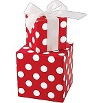 Cheery Dots Full Ream Gift Wrap, 24