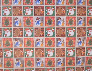 "Christmas Sewing Full Ream Gift Wrap, 24"" x 833'"
