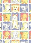 Puppies & Kittens Gift Wrap, 24