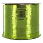 Lime (celery) Metallic Crimped Ribbon, 3/16