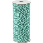 Green/White 16-Ply Bakers Twine, 250 yards
