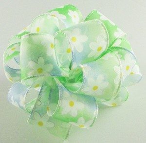 "Mint Lazy Dazy Ribbon, 1-1/2"" x 25 yards"