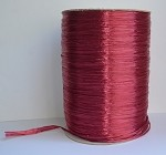 Burgundy Pearlized Wraphia, 2,200 yards ***SALE, It's like 22 rolls for the price of 6!***