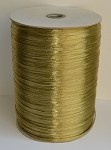 Champagne Pearlized Wraphia, 2,200 yards ***SALE, It's like 22 rolls for the price of 6!***