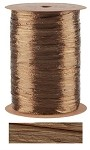 Chocolate Pearlized Wraphia, 100 yards