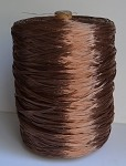 Copper Pearlized Wraphia, 2,200 yards ***SALE, It's like 22 rolls for the price of 6!***